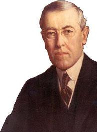 Президент США Вудро Вильсон