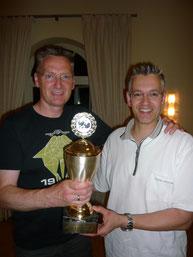 Andre Fecht (links) ist Sportler des Jahres