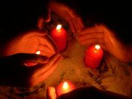 Candle-Light Vigil für den Klimaschutz