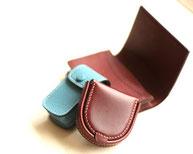 革細工 馬蹄 コインケース カードケース