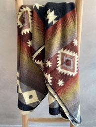 alpaca blanket deken ethnic earth