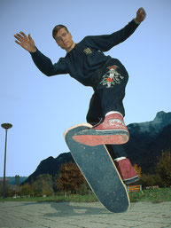 No-Hand 50/50, Guenter Mokulys. Skateboardbusiness.de