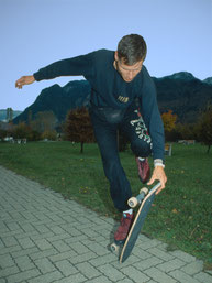 50/50, Guenter Mokulys. Skateboardbusiness.de