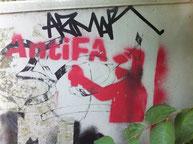 Antifa Stencil (groß)