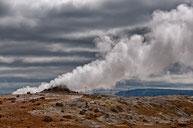 Hochtemperaturgebiet Námaskarð im Kraflagebiet