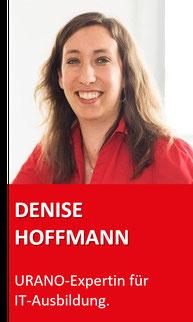 Ausbildungsleiterin Denise Hoffmann
