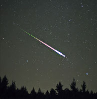 Leonid Meteor (wikimedia commons)
