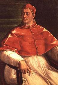 Clément VII par Sebastiano del Piombo.Museo di Capodimonte