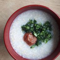 大根おろし玄米粥(デトックスのタイミングにぜひ)