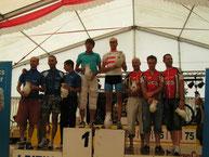 Siegerehrung Teamwertung Männer - 120 km