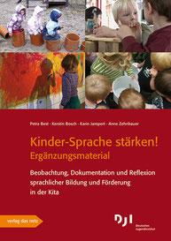 Kerstin Bosch: Kinder-Sprache stärken! Ergänzungsmaterial