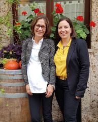 Claudia Estermann und Margit Haunholder