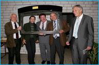 Besuch des Staatssekretärs Hans-Joachim Fuchtel (MdB) und des Landrats Helmut Riegger