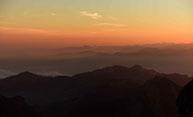 Morgenröte vom Säntis