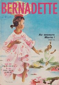 Je me souviens parfaitement de cette couverture : la fillette qui appelle à l'aide avait son pied coincé dans un... bénitier !
