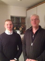 Ralf Keuch (r.) und sein Nachfolger Dyke-Bjarne Pioch