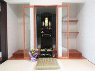 ポプラモダン仏壇直置