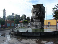 Plaza de Coatlinchan.