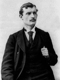 El artista noruego Edvard Munch.