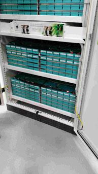 Tesvolt Akku System Aktives Batterie Management sytsm BMS Foto Solarstrom Simon