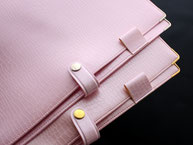 かわいい おすすめ B5ノートカバー ペンホルダー付き ピンク
