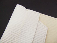 かわいい オシャレ おすすめ 文庫判 ブックカバー A6 ホワイト