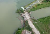 Abzweig der Malý Dunaj