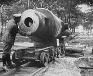 Neben dem Lokschuppen entsteht momentan ein militärisches Museum