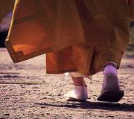 おそるべし白足袋族が跋扈する京の街