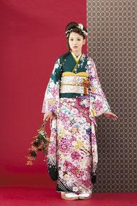 minori振袖カタログ JS-019 販売価格 398,000円 オーダーレンタル 店頭発表