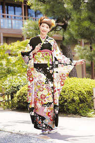 minori振袖カタログ JS-015 販売価格 398,000円 オーダーレンタル 店頭発表