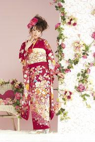 minori振袖カタログ JS-011 販売価格 348,000円 オーダーレンタル 188,000円