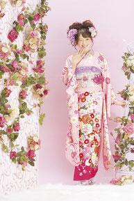 minori振袖カタログ JS-003 販売価格 248,000円 オーダーレンタル 148,000円