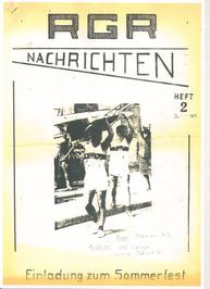 Zweite Ausgabe der RGR-Nachrichten 1965