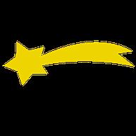 Stella Cometa con la coda