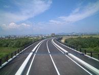 主要地方道 北方多度線 犀川大橋床版工事