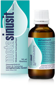 metasinusit bei Entzündungen der Nasennebenhöhlen