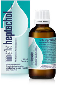 metaheptachol®N zur Stärkung des Leber-Galle-Systems
