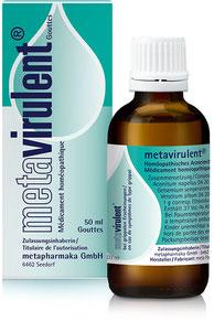metavirulent® bei grippalen Erscheinungen