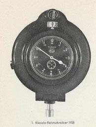 Kienzle-Fahrtschreiber 1928