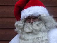 Berliner Weihnachtsmann auf Facebook