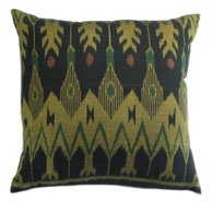 Black and Gold Ikat
