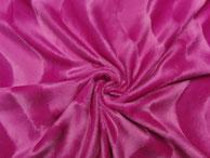 Fellimitat kurzhaar mit Wellenmuster pink