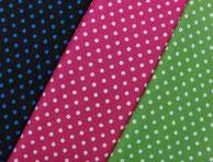Nr.13 Punkte türkis, rosa, grün