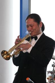 桜木町 横浜ジャム音楽学院 トランペット科講師  深井 一也