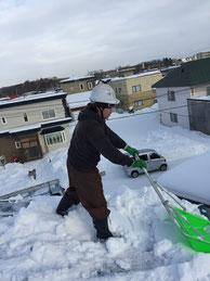 雪下ろし 旭川 除雪 シーズン契約