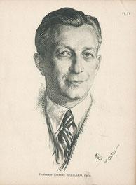 Etienne Bernard  professeur médecine 1950