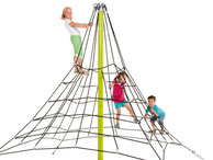 piramide 270 giochi per parchi, attrezzature per parchi gioco, strutture ludiche Stileurbano Ciuffo Baobab certificati Norma EN1176 CATAS stileurbano oratorio FOM odielle abbiategrasso