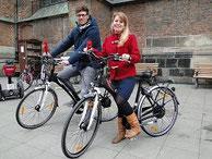 e-Bikes fürs Radio in Hannover