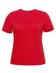 T-Shirt mollige Frau